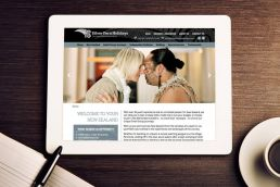 Silver Fern Holidays Website Design