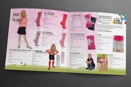 Country Kids Tights brochure design