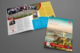 Holiday brochure design for One Traveller