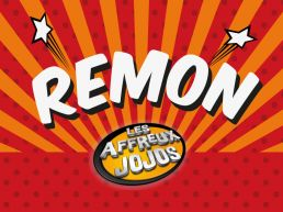 CD Cover Design for French comedian 'Remon'