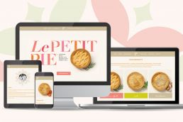 Le Petit Pie Website Design