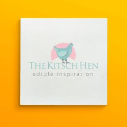 Branding design for The Kitsch Hen